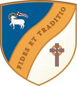 Faith and Heritage shield