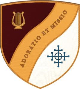 Worship and Mission shield